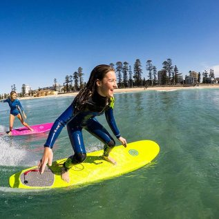 Surfing lessons perth Gnaraloo Soft Board
