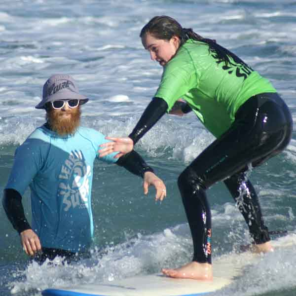 Surfing Lessons Perth Leighton Beach