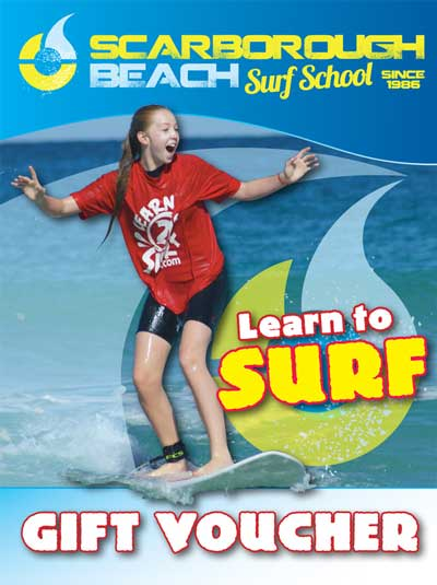 Surf Lessons Perth Gift Voucher
