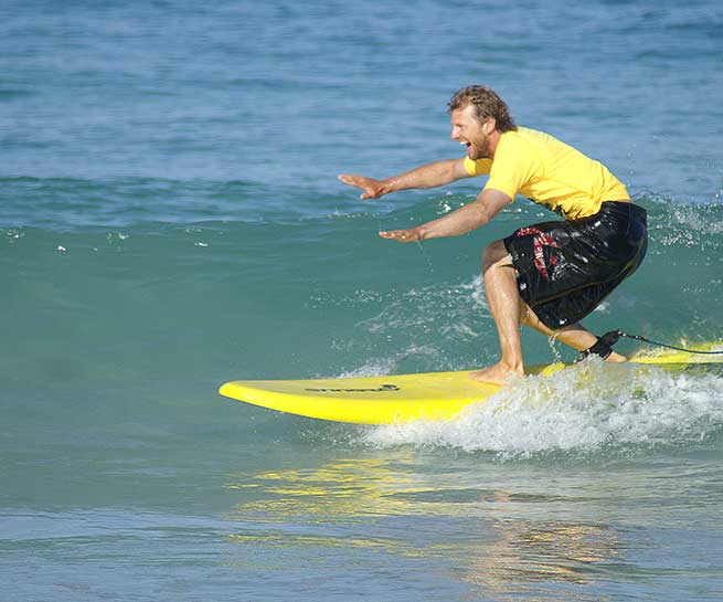 Surfing Lessons Perth Intermediates