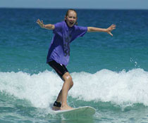 surfing lessons Perth kids surf lessons