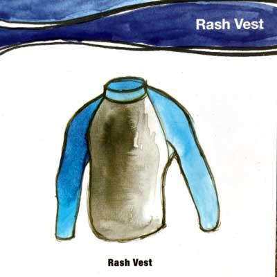 Rash Vests for summer surfing